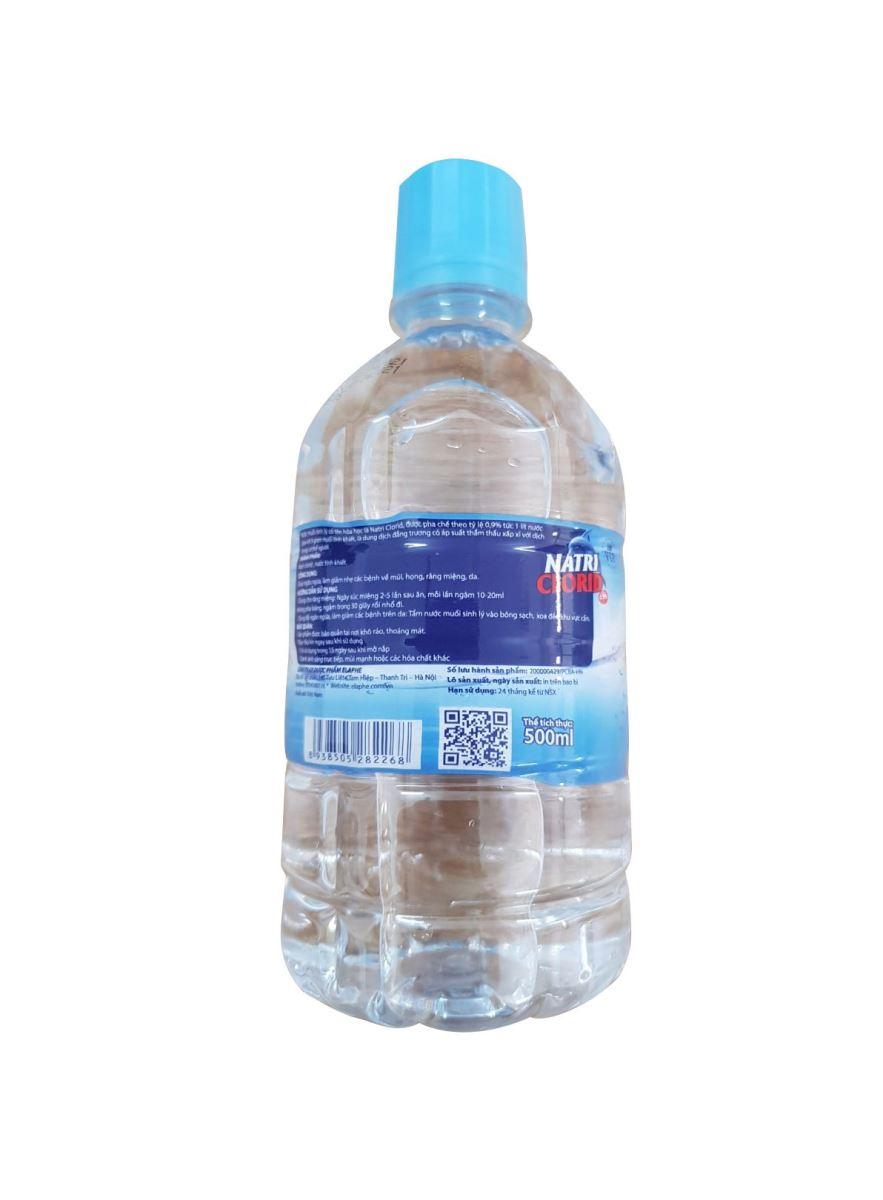 Nước muối muối sinh lý đa năng